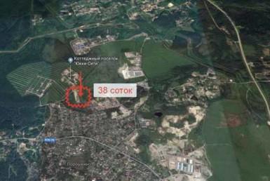 Продажа 38 соток промназначения в Порошкино